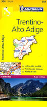 Maps Italy by 354 Trentino Michelin Local Map Italy Italy Maps Where Are You