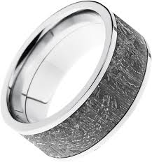 meteorite wedding band home page