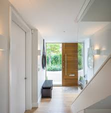 Contemporary Entry Doors Contemporary Front Door Design Entry Craftsman With Wall Lighting