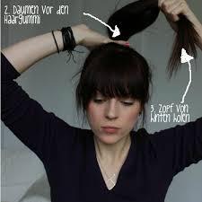 Frisuren Zum Selber Machen Mit Pony by Schöne Frisuren Für Mittellanges Haar Zum Selbermachen So