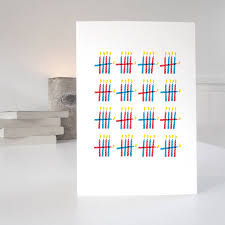 80th birthday card with 80 candles design by purpose worth etc