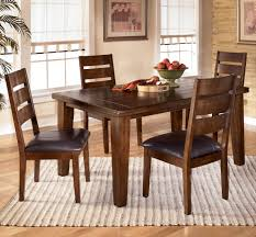 signature design by ashley larchmont 5 piece rectangular dining