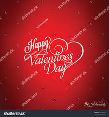 happy valentines day card typography poster stock vector 771798628