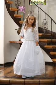 communion dresses for embroidered taffeta communion dress with sleeves 1st