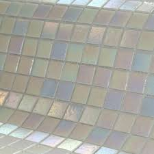 irridescant oyster mosaic tiles bathroom pinterest oysters