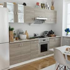 What To Look For In Kitchen Cabinets Oak Look Kitchen Cabinet Unit 8 Sales Online Tomtop Com