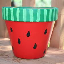 Painting Garden Pots Ideas 19 Diy Painted Pots How To Paint Pots For A Adorable Garden