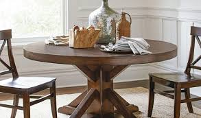 Pottery Barn Dining Room Sets Benchwright Pedestal Dining Table Pottery Barn Contemporary Room