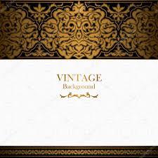 Islamic Invitation Card Vintage Background Islamic Style Ornament Ornamental Book Cover