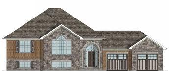 raised bungalow house plans custom house plans sudbury raised bungalow plan hst architecture