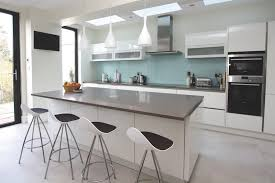grey and white high gloss kitchens google search design