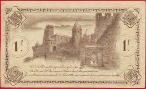 chambre de commerce carcassonne carcassonne 1 franc 1920 fdcollector