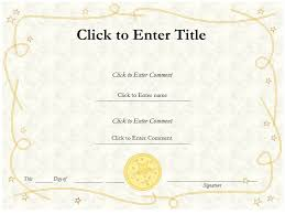 templates for award certificate printable free editable certificate templates free editable blank award