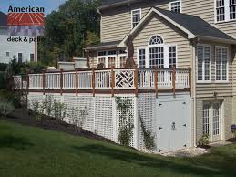 baltimore md storage shed very attractive wood and cedar deck