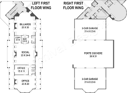 garage office plans balmoral castle plans luxury home plans