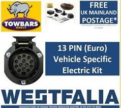 13 pin towbar wiring kit for bmw x5 e53 2000 u003e2007 electrics