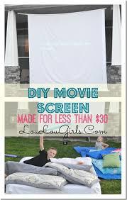 Backyard Projector Screen by Best 20 Outdoor Movie Screen Ideas On Pinterest Outdoor Movie