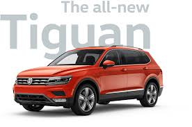 2018 vw tiguan mid size sporty suv volkswagen