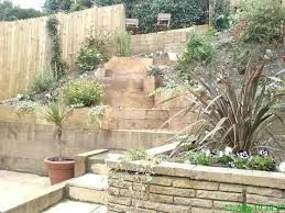 Steep Hill Backyard Ideas Steep Hill Landscaping Ideas Landscaping A Yard With A Hill