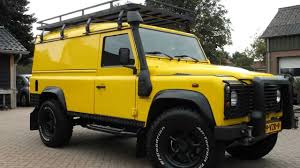 land rover defender 90 yellow land rover defender 2 4 td ht 110