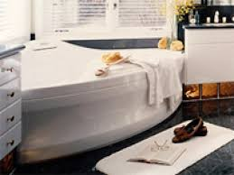 bathtubs ergonomic corner jacuzzi baths ireland 62 beliani