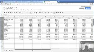 Spreadsheet Budget Planner Financial Budget Planner Template Haisume