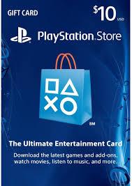 psn gift card playstation network card 10