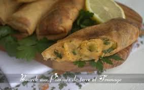 cuisine au fromage bourek aux pommes de terre et fromage entree pour ramadan amour de