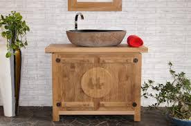 holz in badezimmer waschtisch mit unterschrank 100 cm nr 58122 unterbau bad