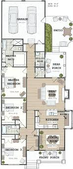 home plans craftsman style narrow house plans house plans narrow lot house