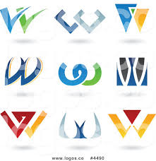 royalty free collage of letter w logo by cidepix 4490