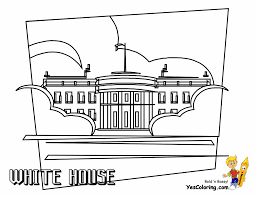white house coloring page olegandreev me