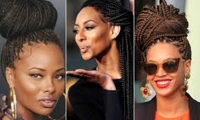 hairstyles for block braids 100 ways to style your box braids hellobeautiful