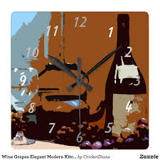 kitchen clocks modern wine grapes elegant modern kitchen clocks modern modern