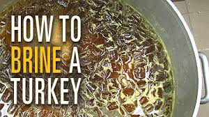 how brine a turkey food brining a turkey carycitizen