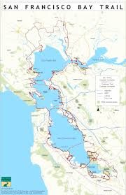 Cable Car Map San Francisco Pdf by San Francisco Bay Trail Map Michigan Map