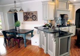 What Is A Breakfast Nook by Have You Considered Grey Kitchen Cabinets