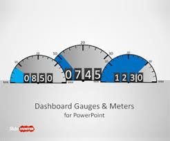 editable speedometer powerpoint template