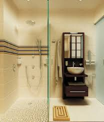 chicago pebble shower floor bathroom contemporary with frosted
