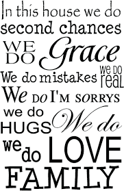quote home country in this house we do love quote wall decal best house rules sign