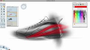 shoe design software shoe design sketch basketball pencil and in color