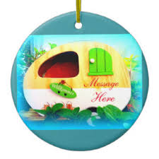 Dinosaur Christmas Decorations Uk by Caravan Christmas Tree Decorations U0026 Ornaments Zazzle Co Uk
