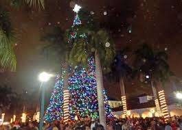 christmas tree lighting 2018 delray beach christmas tree lighting designcreative me