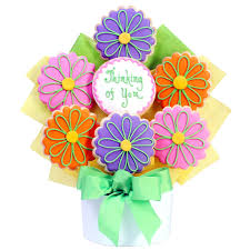 thinking of you flowers thinking of you cutout cookie bouquet