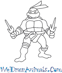 coloring endearing turtle easy draw finished turtles1