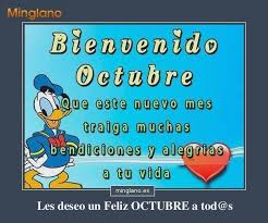 imagenes feliz octubre para recibir el mes de octubre