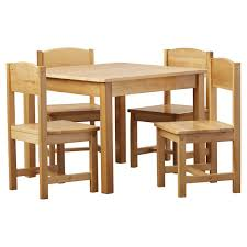 Kitchen Wood Table by Kids U0027 Table And Chairs