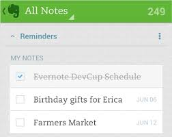 android reminders evernote reminders arrive on android