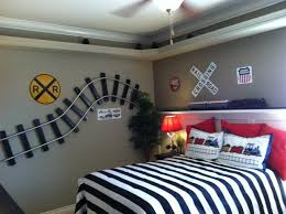 diy train bedroom for kids u2022 the budget decorator