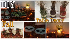 diy 7 fall table decor ideas autumn home decor 31 youtube